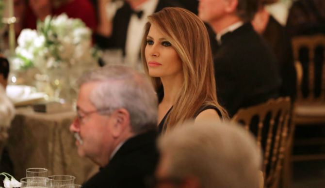 022617 Melania Trump Hosts Governors Ball White House Sunday ...